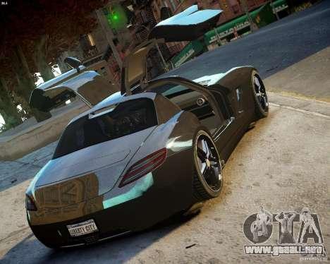 Mercedes SLS Extreme para GTA 4 visión correcta