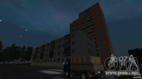 Arzamas beta 2 para GTA San Andreas octavo de pantalla