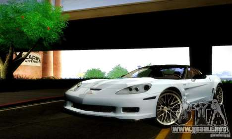 Chevrolet Corvette ZR-1 para GTA San Andreas left