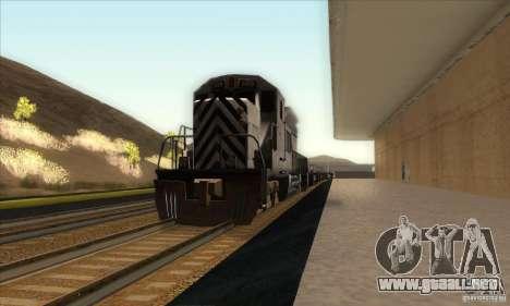 Russian Rail v2.0 para GTA San Andreas