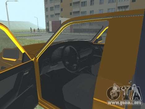 GAS Trofim 17310 para GTA San Andreas vista hacia atrás