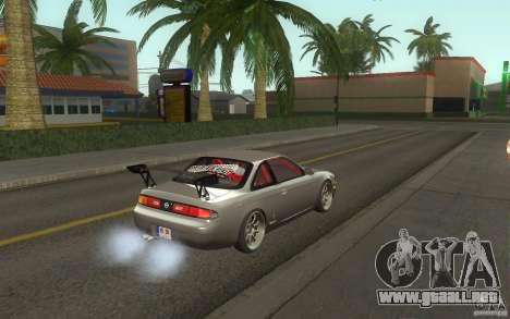 Nissan Silvia S14 Zenkitron para la visión correcta GTA San Andreas