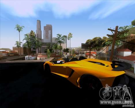 Lamborghini Aventador J TT Black Revel para GTA San Andreas left
