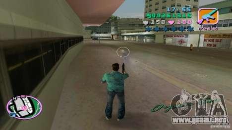 Tiro con una mano para GTA Vice City