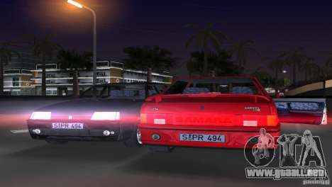 VAZ 21099 DeLuxe para GTA Vice City vista lateral izquierdo