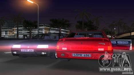 VAZ 21099 DeLuxe para GTA Vice City vista lateral izquierdo