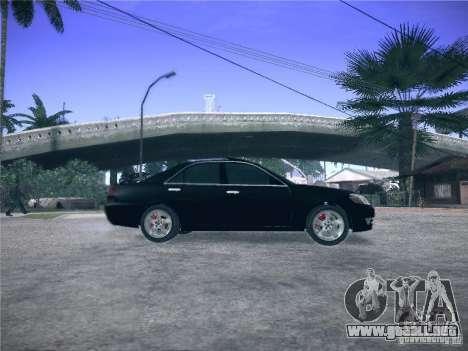 Toyota Mark II Grande para GTA San Andreas left