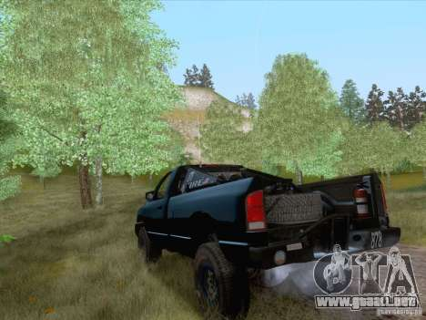Dodge Ram Trophy Truck para GTA San Andreas left