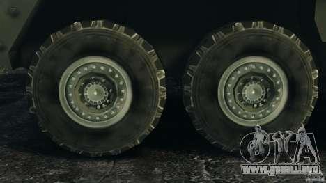 Stryker M1134 ATGM v1.0 para GTA 4 vista interior