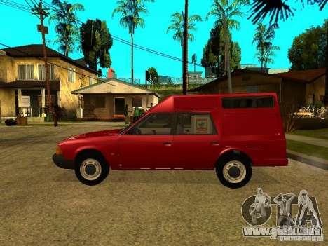 AZLK 2901 para GTA San Andreas left