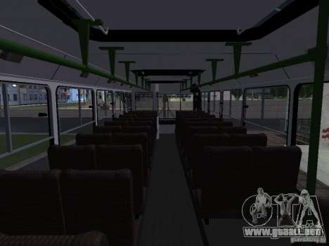 LIAZ 5256 Suburban para visión interna GTA San Andreas