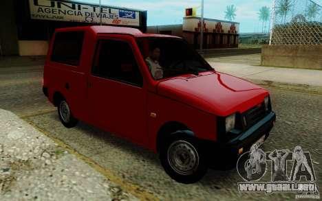 SEAZ Oka Pickup para GTA San Andreas vista hacia atrás