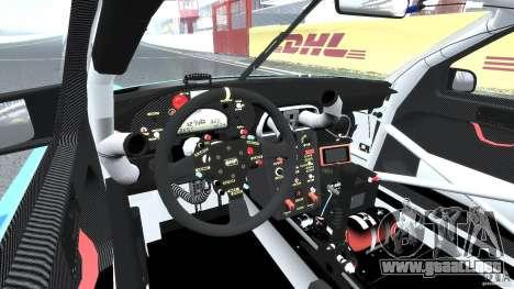 Porsche GT3 RSR 2008 para GTA 4 visión correcta