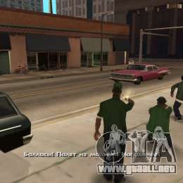 Crack for the game Grand Theft Auto: San Andreas, bought via Steam. Cdelan