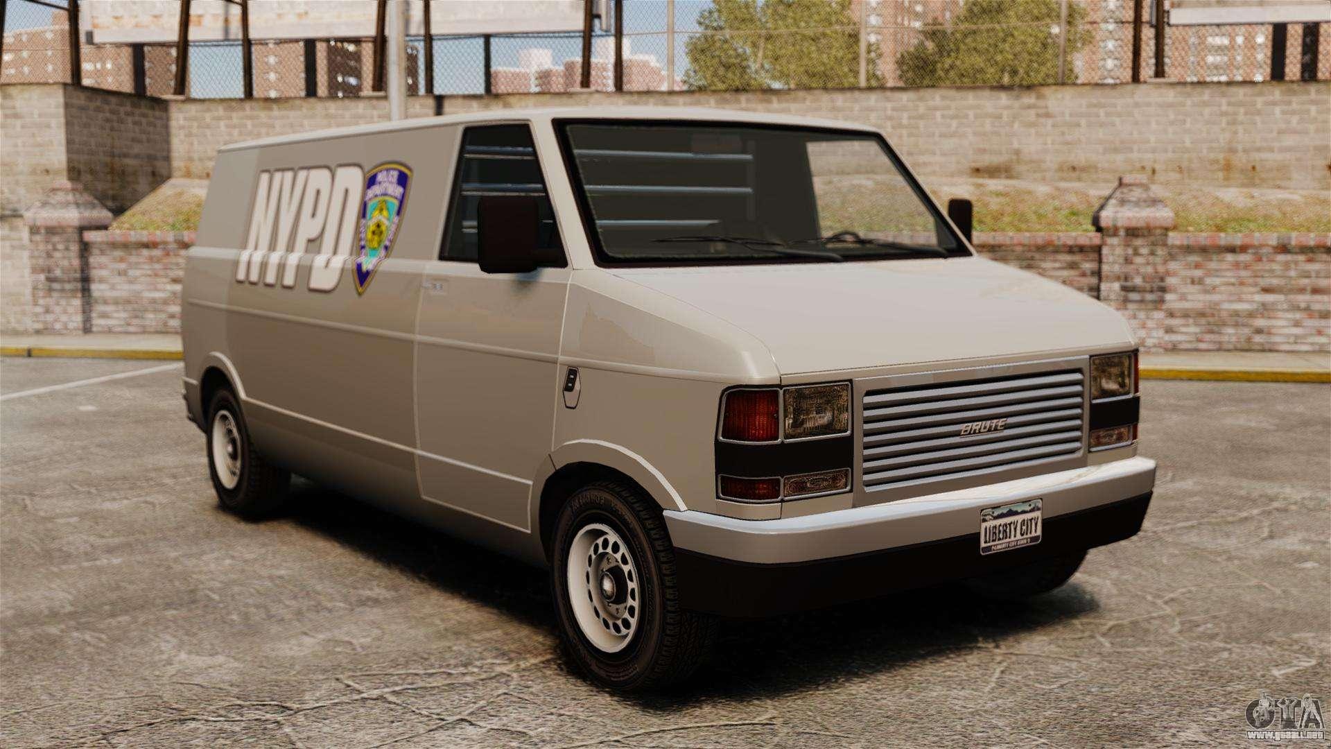Nuevo para colorear para camioneta Pony para GTA 4