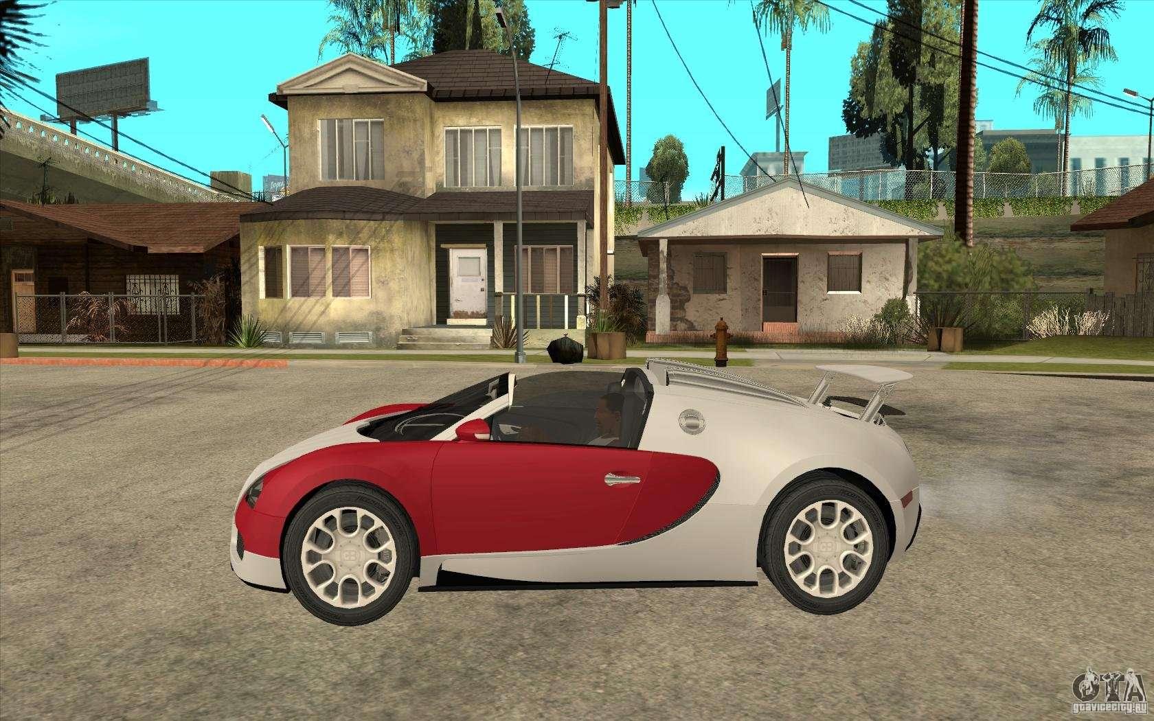 bugatti veyron gran sport 2011 para gta san andreas. Black Bedroom Furniture Sets. Home Design Ideas