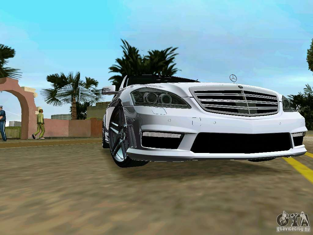 Mercedes benz s65 amg 2012 para gta vice city for Mercedes benz city
