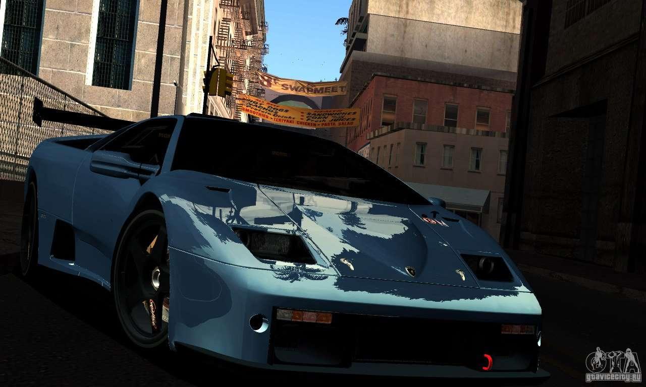 RCM para el PC débil para GTA San Andreas novena de pantalla