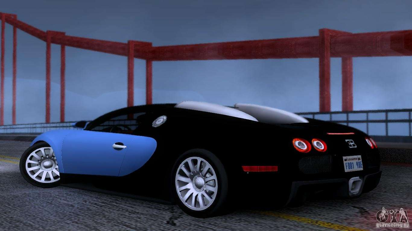 bugatti veyron 16 4 para gta san andreas. Black Bedroom Furniture Sets. Home Design Ideas