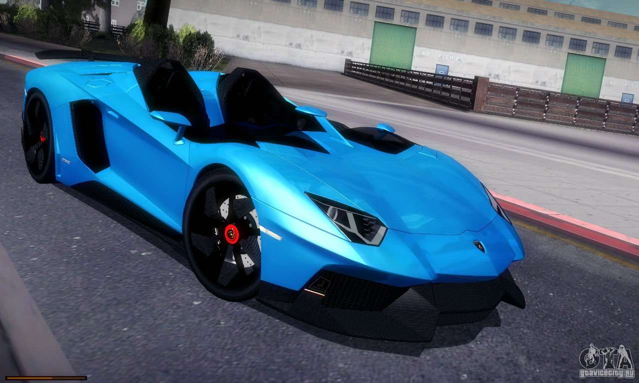 lamborghini aventador j para gta san andreas. Black Bedroom Furniture Sets. Home Design Ideas