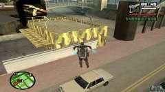 Tienda de armas en Grove para GTA San Andreas
