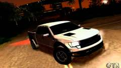 Ford Raptor Crewcab 2012 para GTA San Andreas