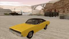 Dodge Charger RT 1968 Bullit clone para GTA San Andreas