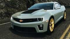 Chevrolet Camaro ZL1 2012 v1.2 para GTA 4