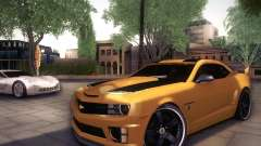 Chevrolet Camaro 2SS 2012 Bumblebee para GTA San Andreas