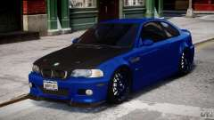 BMW M3 E46 Tuning 2001 para GTA 4