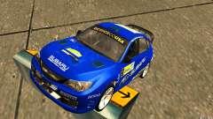 Vinilo nuevo Subaru Impreza WRX STi para GTA San Andreas