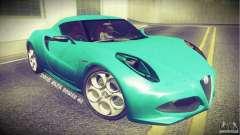 Alfa Romeo 4C V1.0 2013 para GTA San Andreas