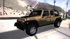 Jeep Wrangler Rubicon Unlimited 2012 para GTA San Andreas