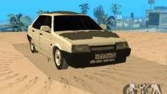 VAZ 21099 invierno para GTA San Andreas