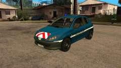 Peugeot 206 Police para GTA San Andreas