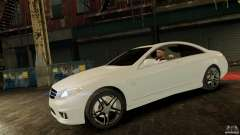 Mercedes-Benz CL65 AMG Stock para GTA 4