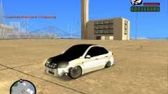 Estilo VAZ 2190 Grant JDM para GTA San Andreas
