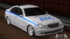 MERCEDES BENZ E500 w211 SE policía Rusia
