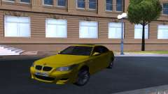 BMW M5 Gold Edition para GTA San Andreas