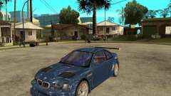 BMW M3 GTR de Need for Speed Most Wanted