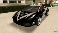 Lamborghini Gallardo Police para GTA Vice City