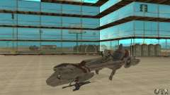 Star Wars speedbike para GTA San Andreas