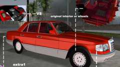 Mercedes-Benz W126 500SE para GTA Vice City