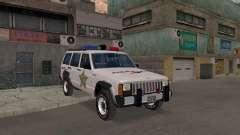 Jeep Cherokee Police 1988 para GTA San Andreas
