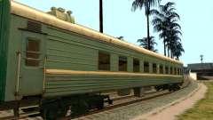 El coche de los ferrocarriles rusos 2