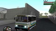 Cuatro Ases M.Benz LO608D para GTA San Andreas