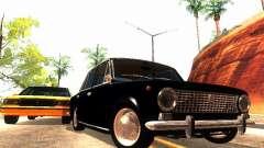 VAZ 2101 drenaje para GTA San Andreas