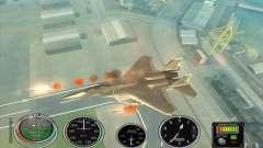 Lanzamiento del cohete rápido a Hydra y Hunter para GTA San Andreas