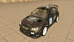 Subaru Impreza WRX STi con el único nuevo vinilo para GTA San Andreas