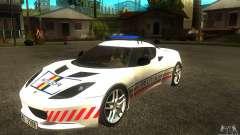 Lotus Evora S Romanian Police Car